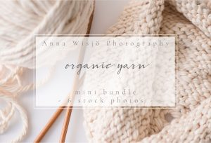 Organic Yarn Stock Collection by Anna Wisjo Stock
