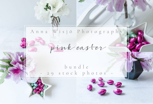 Pink Easter Stock Collection by Anna Wisjo Stock