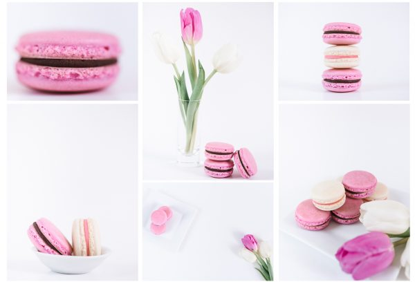 Pink Macaroon Stock Collection by Anna Wisjo Stock